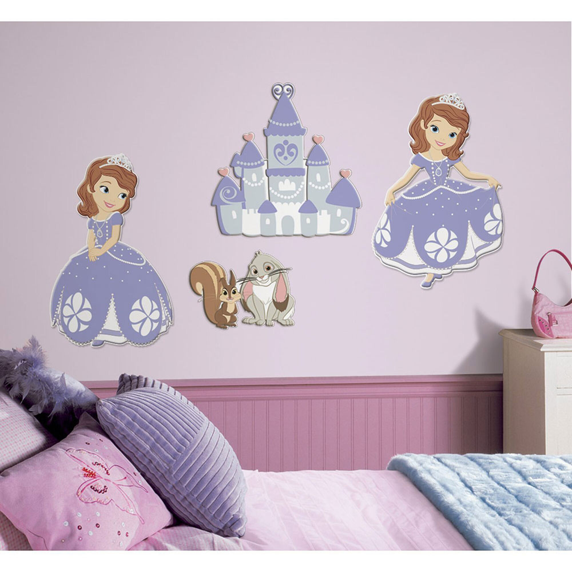 Sofia the first wall decals claires sofia the first wall decals amipublicfo Images
