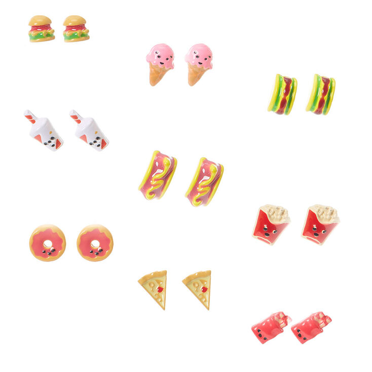 Earrings food from claires foto