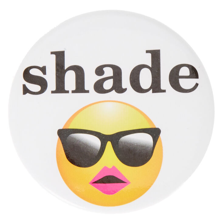 Shade Emoji Button,