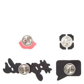Fashionista Goals Pins Set,