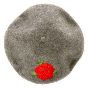 Red Rose Wood Beret,