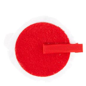 Mini Sequin Santa Hat Hair Clip,