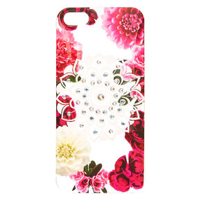 Floral Bling Mandala Phone Case,