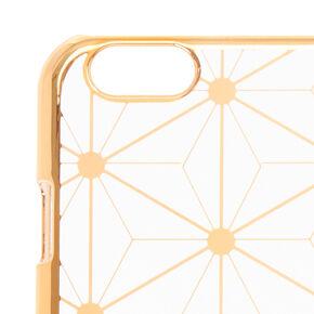 Honey Comb Metallic Phone Case,