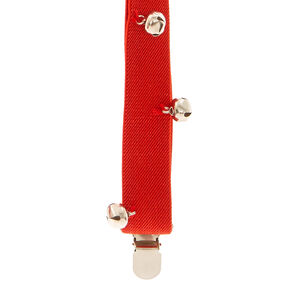 Red Jingle Bells Suspenders,