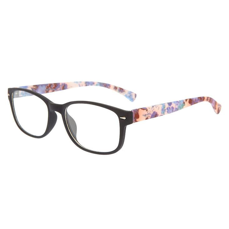 Výsledek obrázku pro clairex faux glasses floral print