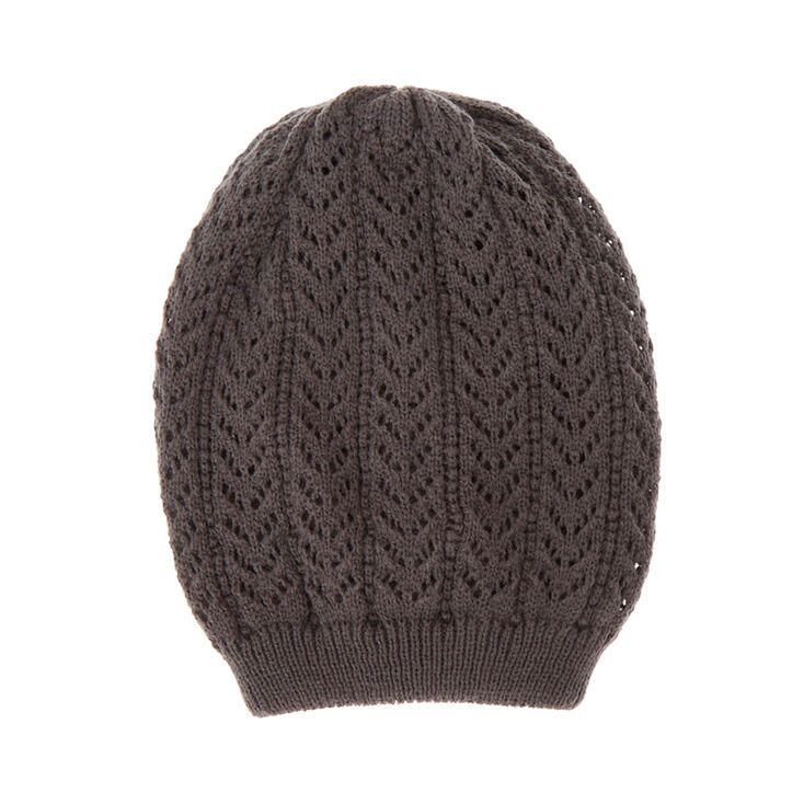 Gray Oversized Beanie at Icing in Victor, NY | Tuggl