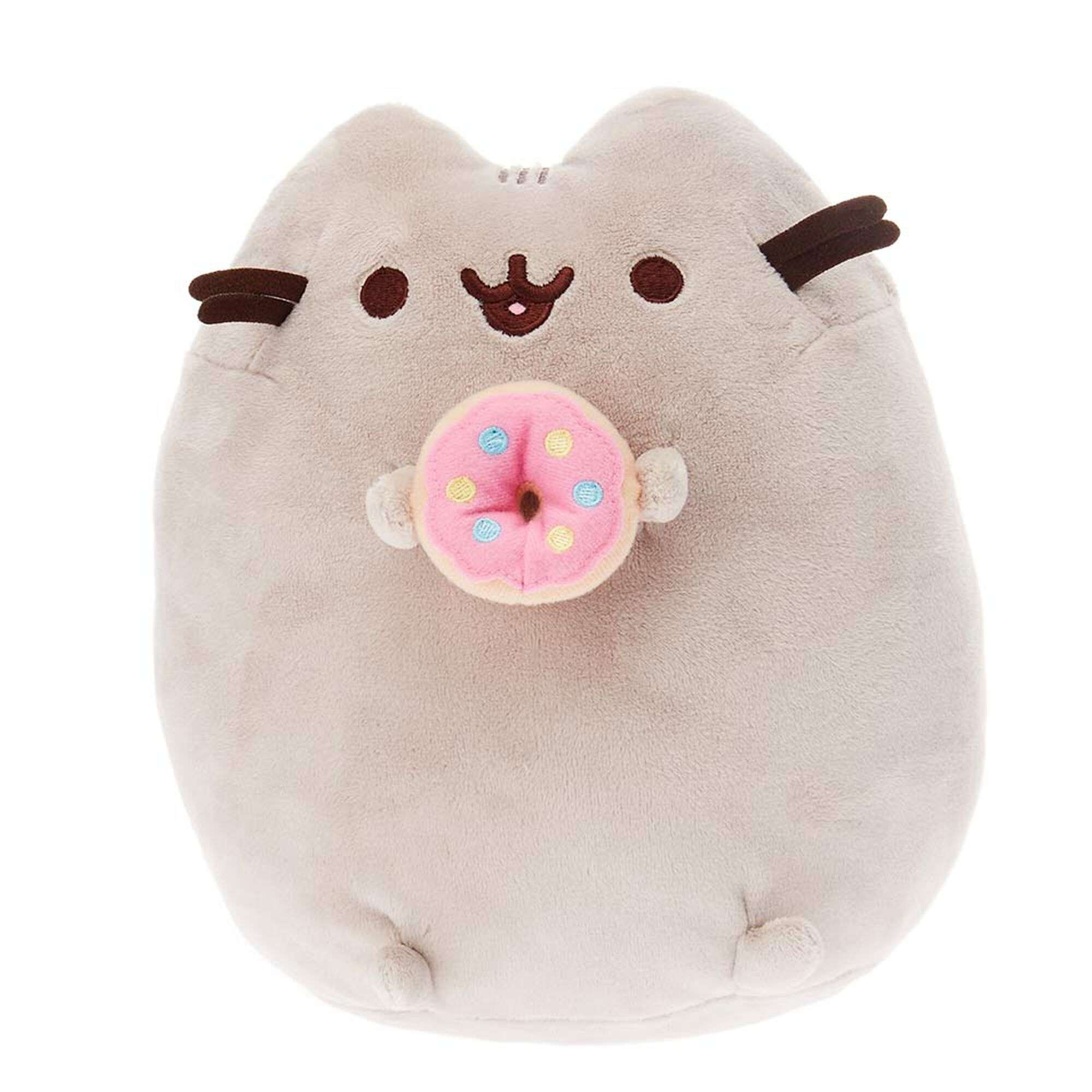grosse peluche donut pusheen claire 39 s fr. Black Bedroom Furniture Sets. Home Design Ideas
