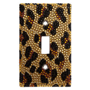 Leopard Print Switch Plate,