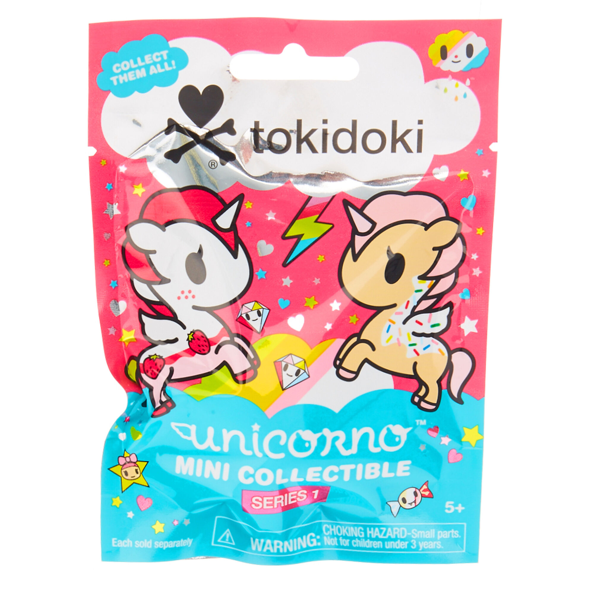tokidoki unicorno surprise bag claire 39 s. Black Bedroom Furniture Sets. Home Design Ideas