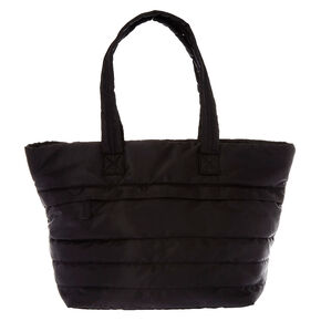 Black Oversized Duffle Bag,