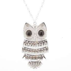 "32"" Owl Necklace,"
