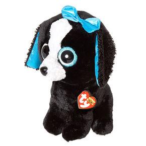 TY Beanie Boos Medium Tracey the Dog Plush Toy,
