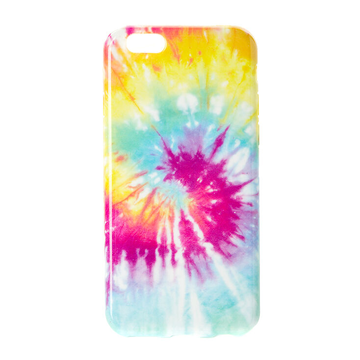 Rainbow Tie Dye Silicone Phone Case,