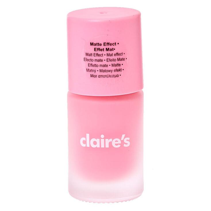 Nail Polish Catalog: Sorbet Pink Matte Nail Polish