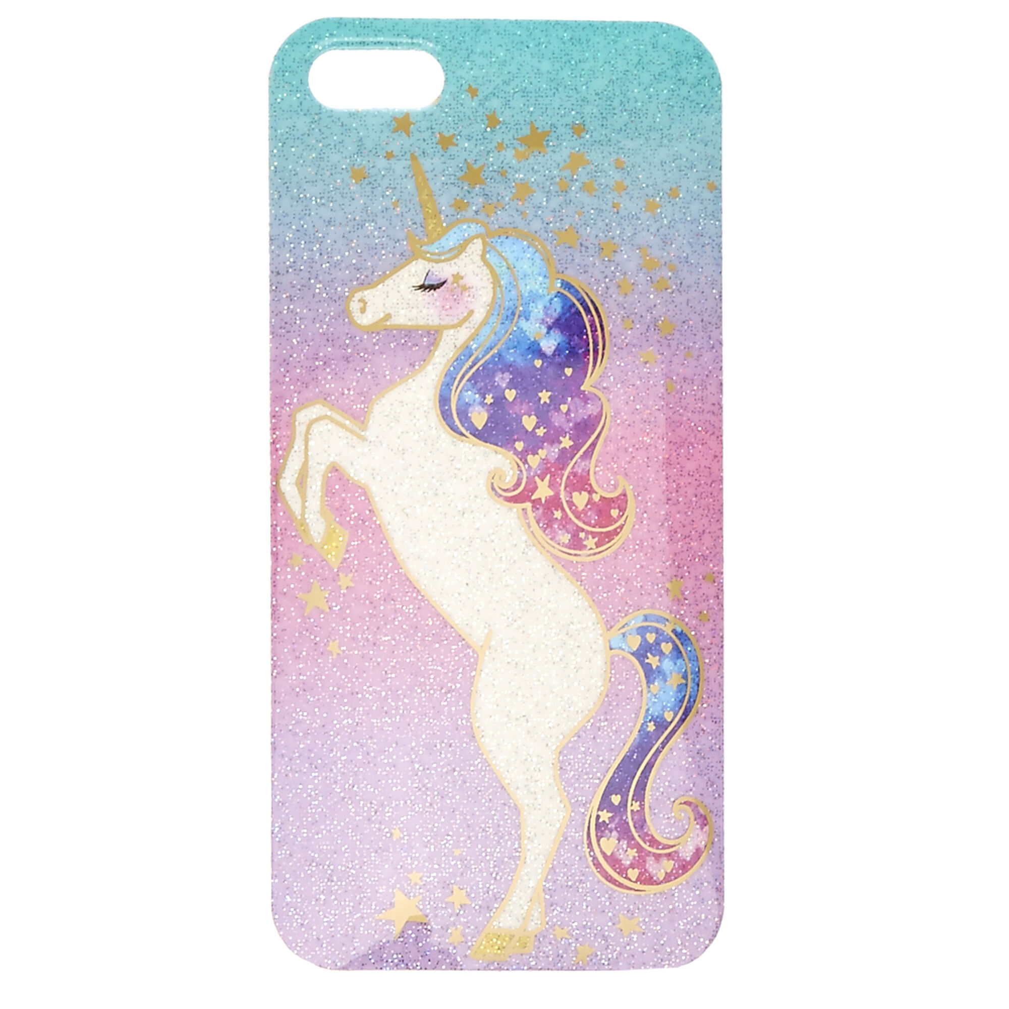 Shimmer unicorn ipod case claire 39 s us for Housse samsung galaxy s5