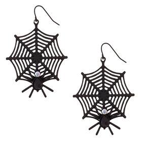 Spider Web Earrings,