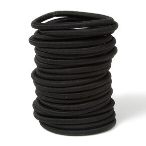 Thick Band Ponytail Holders Set of 20,