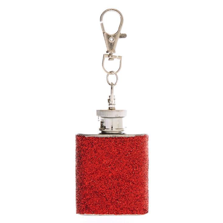 Holiday Flask Keychain,
