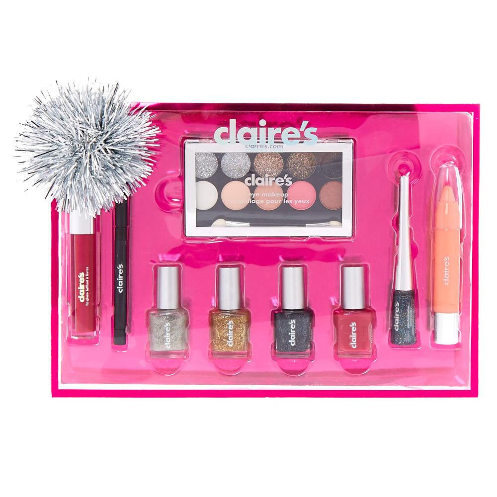Christmas 9 Piece Makeup Gift Set   Claire's
