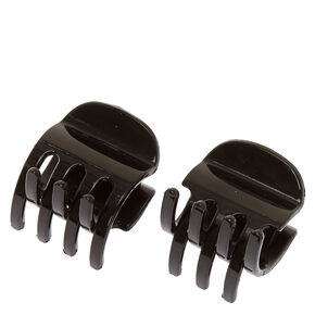 Black No Slip Grip Hair Claws,