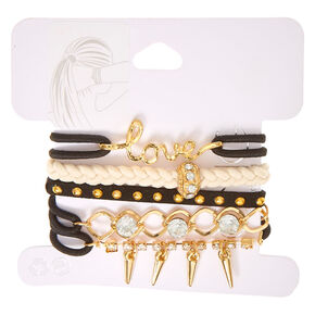 Love Bangle Hair Ties,