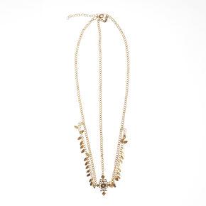 3-Way Gold Cleopatra Head Chain,