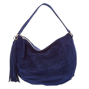 Blue Hobo Bag,
