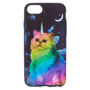 Rainbow Unicorn Cat Phone Case,