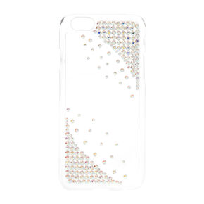 Bejeweled Clear Phone Case,
