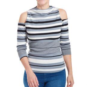 Navy Stripe Bodysuit,