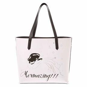 Monochrome Mermazing Tote Bag,