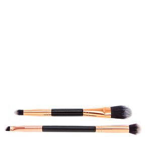 Eye Shadow & Foundation Duo Brush Set,