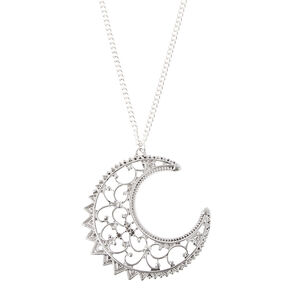 Half Moon Pendant Necklace,