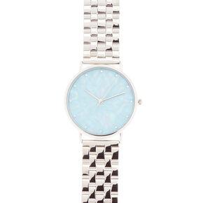 Aquamarine and Opaque Shine  Watch,