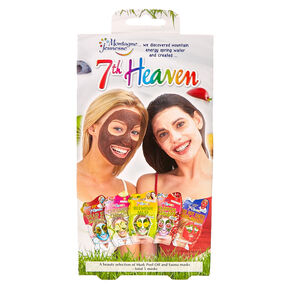 5 Pk 7th Heaven Peel Off and Sauna Masks,