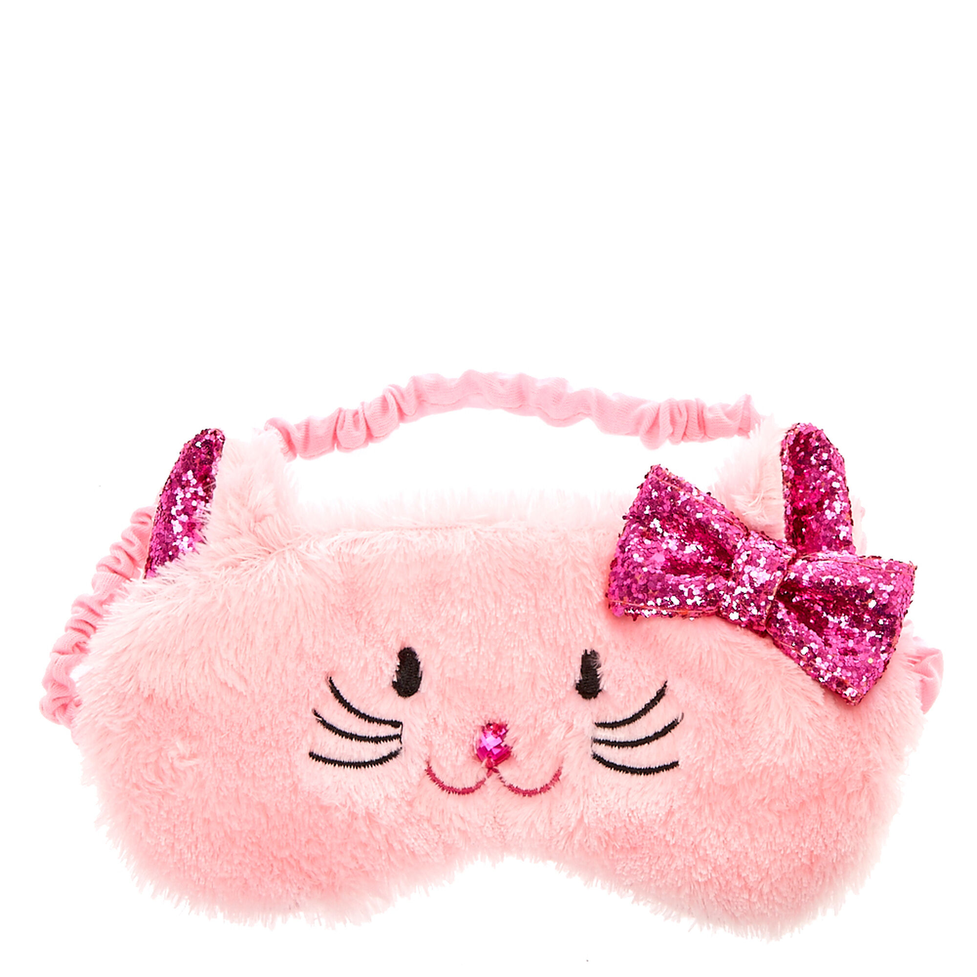 Kids Pink Kitty Cat Eye Mask Claire S Us