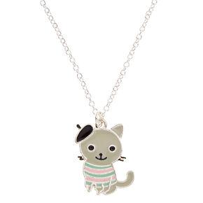 Cat Beret Necklace,