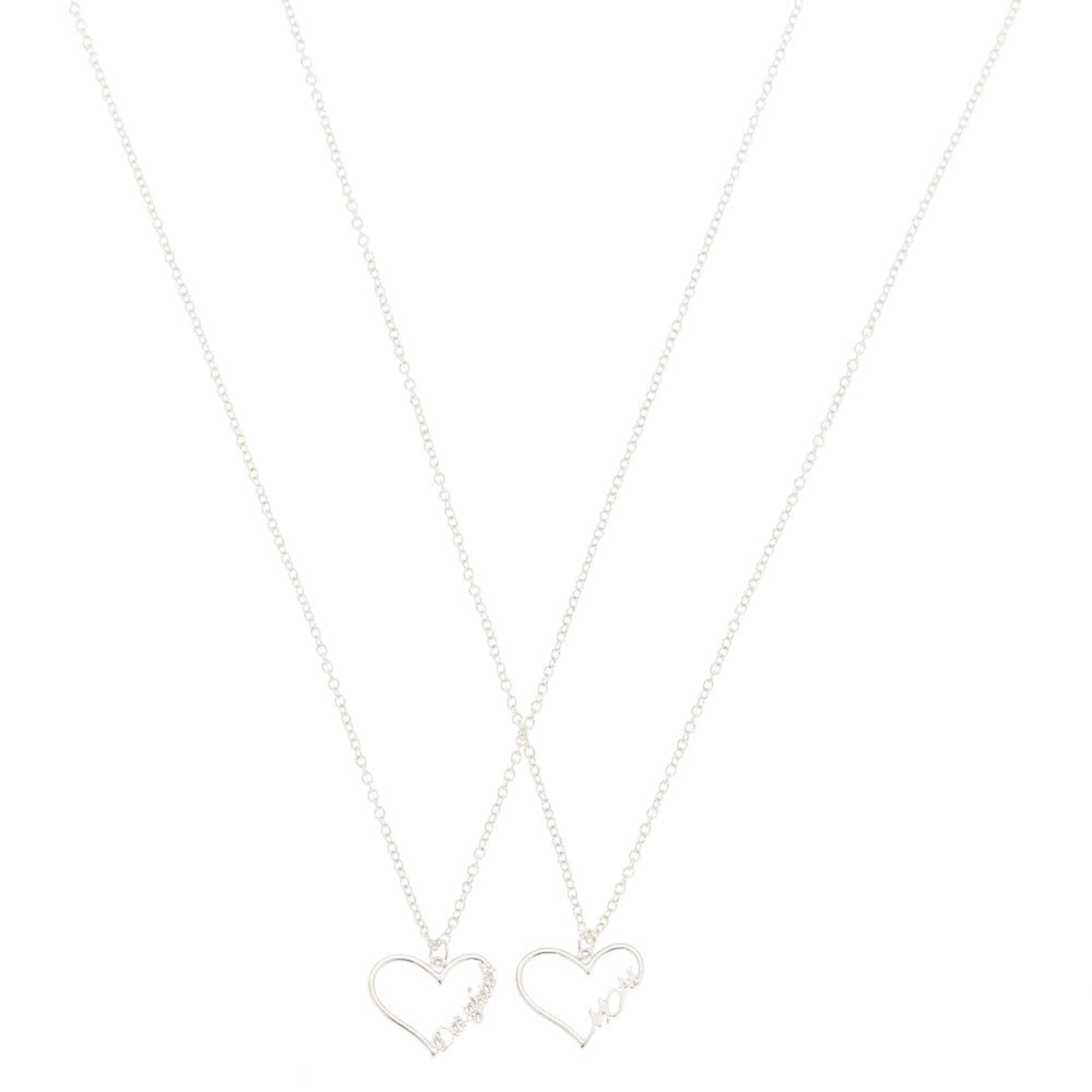 Mom and daughter pendant necklace set claires ca mom and daughter pendant necklace set aloadofball Gallery
