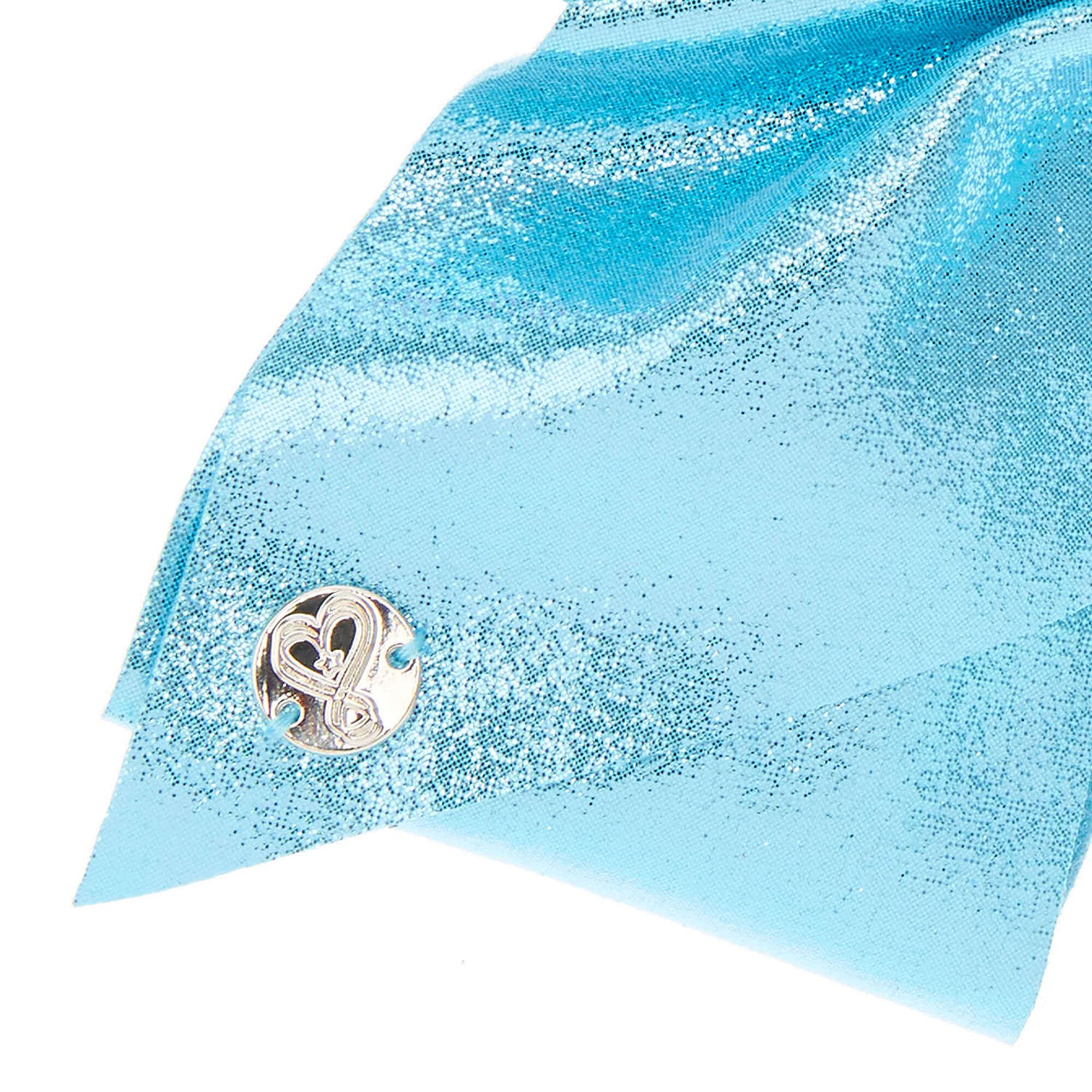 gros n ud pour les cheveux turquoise paillettes sign jojo siwa claire 39 s fr. Black Bedroom Furniture Sets. Home Design Ideas