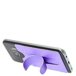 Purple Re-usable Card Pocket,