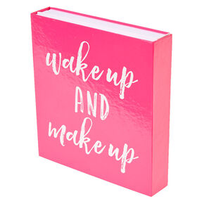 Wake Up and Make Up Booklet Cosmetic Set,