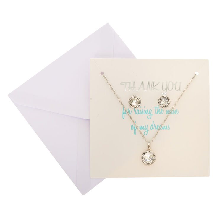 Thank You! For Raising The Man Of My Dreams Jewelry Set,