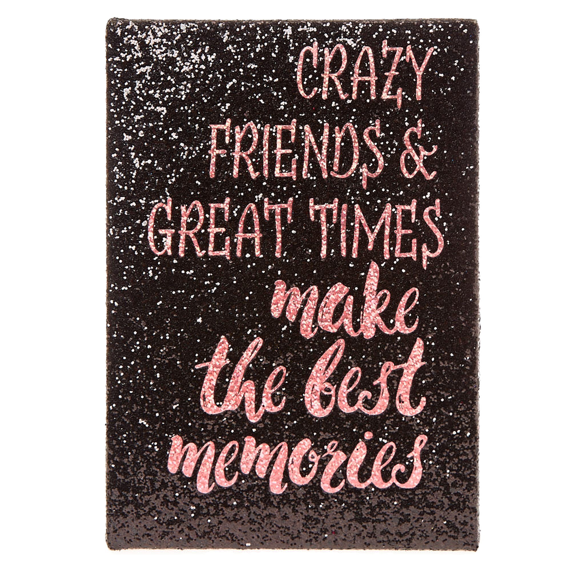 Glitter Wall Art best memories glitter wall art canvas | claire's