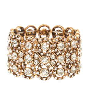 Vintage Gold and Crystal Bracelet,
