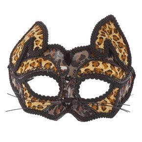 Leopard Halloween Mask,