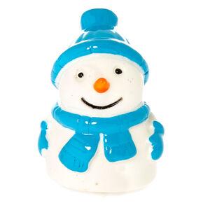 Marshmallow Snowman Lip Gloss Pot,