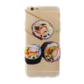 Clear Sushi Rolls Phone Case,
