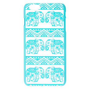 Frosted Mint Elephant Phone Case,