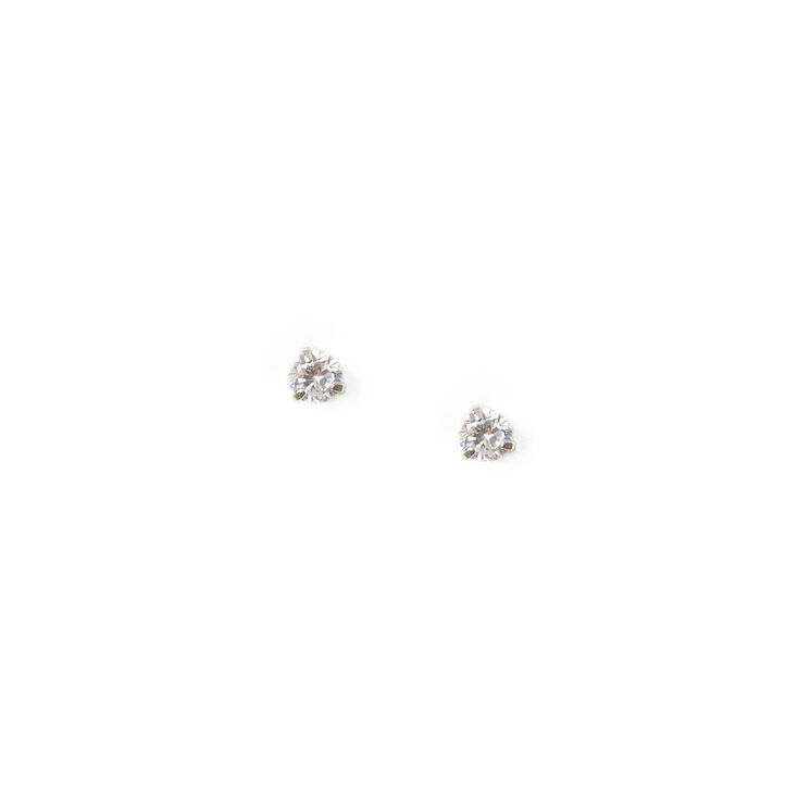 6MM Cubic Zirconia Round Martini Set Stud Earrings at Icing in Victor, NY | Tuggl